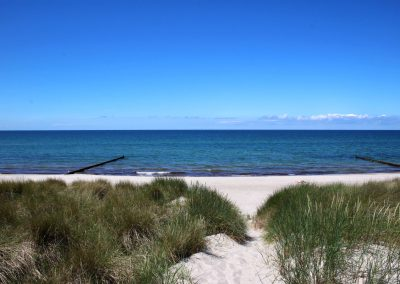 privater Strandaufgang zur Ostsee